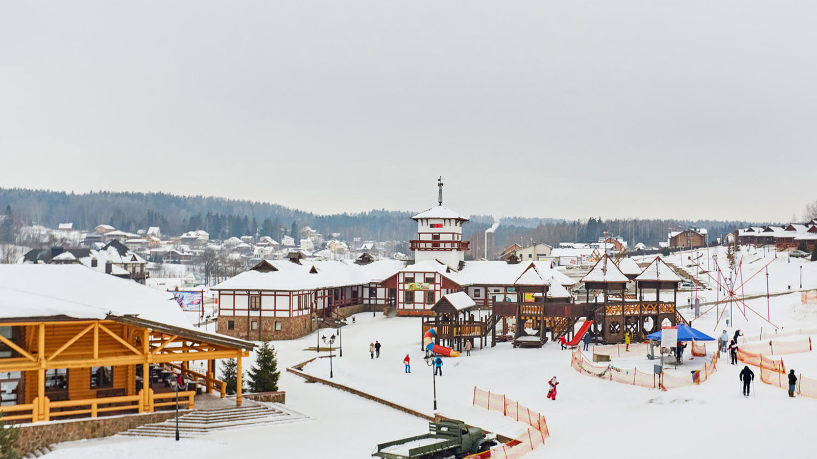 Спортивно-развлекательный горнолыжный тур в Логойск