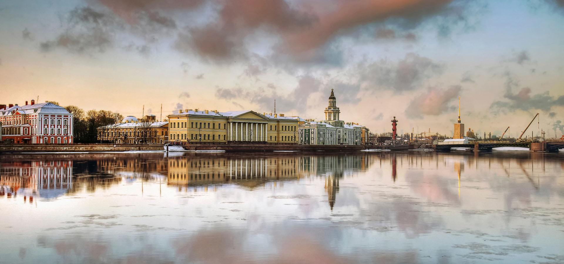 Санкт-Петербург Осень-Зима-Весна